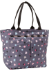 LeSportsac  -  LeSportsac Everygirl Nylon Tote Heart Parade