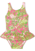 Lilly Pulitzer Swimsuit -  Lilly Pulitzer Baby-Girls Ruth Swimsuit Hotty Pink The Gangs All Here