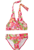 Lilly Pulitzer Swimsuit -  Lilly Pulitzer Girls Sand Bar Bikini Azalea Pink