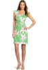 Lilly Pulitzer Dresses -  Lilly Pulitzer Women's Cherry Dress Green Pink Twinkle