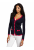 Lilly Pulitzer Cardigan -  Lilly Pulitzer Women's Cody Cardigan True Navy Bow