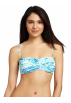 Lilly Pulitzer Swimsuit -  Lilly Pulitzer Women's Keene Bandeau Top Resort White High