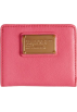 Amazon.com Wallets -  MARC BY MARC JACOBS Classic Q Snap BiFold Leather Wallet - Coral