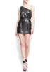 Mango Dresses -  Mango Women's Asymetric Metallic Dress Black