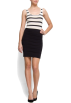 Mango Obleke -  Mango Women's Bandage Dress Black