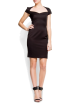 Mango Vestidos -  Mango Women's Cocktail Tube Dress Black