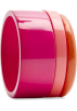 Mango Bracelets -  Mango Women's Collection Of Three Bracelets Fuschia