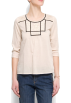 Mango Shirts -  Mango Women's Embroidery Blouse Neutral