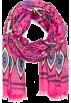 Mango Scarf -  Mango Women's Ethnic Print Cotton Foulard