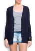 Mango Cardigan -  Mango Women's Knit Cardigan Navy