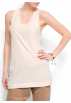 Mango Top -  Mango Women's Long Top Champagne