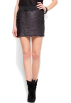 Mango Skirts -  Mango Women's Sequin Skirt Black