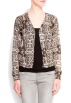 Mango Cardigan -  Mango Women's Snak Print Cardigan Neutral