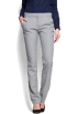 Mango Pants -  Mango Women's Straight-leg Suit Trousers Light Grey