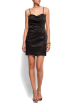Mango Obleke -  Mango Women's Sweetheart Dress Black