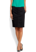 Mango Skirts -  Mango Women's Zip Closure Skirt Black