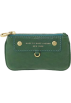 Amazon.com Wallets -  Marc by Marc Jacobs Preppy Leather Mini Skinny Coin Case Pouch w Keychain Parrot Green