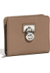 Amazon.com Wallets -  Michale Kors Hamilton Medium Leather Zip Around Wallet Cement