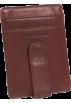 Osgoode Marley Portafogli -  Osgoode Marley Cashmere ID Front Wallet Pocket Clip Wallet Brandy