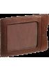 Osgoode Marley Portafogli -  Osgoode Marley Cashmere Magnetic Clip Wallet Brandy