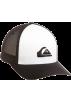 Quiksilver Cap -  Quiksilver Boys 8-20 Netts Hat Black/White