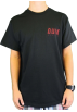 "Quiksilver T-shirts -  Quiksilver Men's ""Dont Look back-MTO"" Black T-Shirt QSYT0MZ7-BLK"