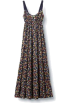 Quiksilver Dresses -  Quiksilver Women's Fern Floral Maxi Dress Fern Specialty Fabric