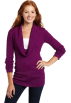 Rampage Pullovers -  Rampage Juniors Cowl Neck Pullover Sweater Purple