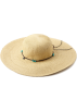 Roxy Hat -  Roxy Juniors By The Sea Floppy Sun Hat Sand