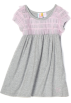 Roxy Vestidos -  Roxy Kids Girls 2-6x Teenie Wahine - Puppy Love Knit Dress Heritage Heather