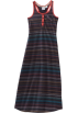 Roxy Obleke -  Roxy Kids Girls 7-16 Lighthouse Racerback Dress Blue Black Stripe