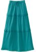 Roxy Skirts -  Roxy Kids Girls 7-16 Party On Maxi Skirt Swells Turquoise