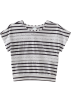 Roxy Shirts -  Roxy Kids Girls 7-16 River Raft Shortsleeve Shirt New Black Stripe