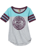 Roxy T-shirts -  Roxy Kids Girls 7-16 Snow Breeze Tee Heather Grey/Purple