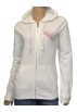 Roxy Long sleeves shirts -  Roxy Women's Vintage Pop Hoodie Sweatshirt-White