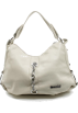 Scarleton Hand bag -  Scarleton Large Shoulder Handbag H1030 Off white