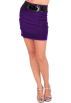 Hot from Hollywood Skirts -  Sexy High Waist Wide Belt Formal Officewear Straight Pencil Cut Mini Skirt