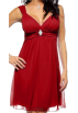 Hot from Hollywood Dresses -  Sexy Sleeveless Rhinestone Evening Prom Party Mini Dress