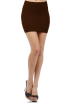 Hot from Hollywood Skirts -  Smooth Wide Banded Waist Comfy Stretch Seamless Fitted Tube Style Mini Skirt
