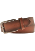 Tommy Hilfiger Belt -  Tommy Hilfiger Men's 08-4752 Heavy Stitch Belts Tan