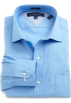 Tommy Hilfiger Long sleeves shirts -  Tommy Hilfiger Men's Slim Fit Poplin Shirt Blue