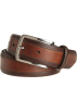 Tommy Hilfiger Belt -  Tommy Hilfiger Men's Vachetta Two Tone Dress Belt Brown
