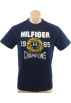 Tommy Hilfiger T-shirts -  Tommy Hilfiger Mens Regular Fit Short Sleve T-Shirt Navy blue