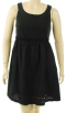Tommy Hilfiger sukienki -  Tommy Hilfiger Scoop Neck Dress Black