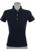 Tommy Hilfiger Shirts -  Tommy Hilfiger Slim Fit Womens Pique Polo Shirt Navy