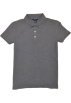 Tommy Hilfiger T-shirts -  Tommy Hilfiger Women Classic Fit Logo Polo T-Shirt Dark Gray
