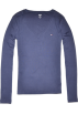 Tommy Hilfiger Long sleeves shirts -  Tommy Hilfiger Women Long Sleeve Logo V-Neck T-Shirt Navy