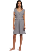 Tommy Hilfiger sukienki -  Tommy Hilfiger Women's Flutter Sleep Dress Oatmeal Heather