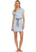 Tommy Hilfiger Vestidos -  Tommy Hilfiger Women's Pocket Tee Sleep Dress Sky Blue Heather