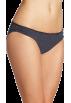 Tommy Hilfiger Underwear -  Tommy Hilfiger Women's Ruched Bikini Navy Pindot